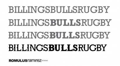 Billings Bulls - Typography