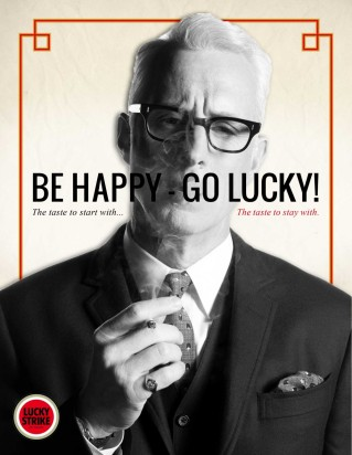 Mad Men - 1960s Lucky Strike, Roger Sterling